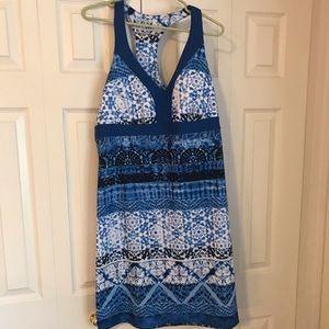 Sleeveless dress with built in bra by Gerry. XXL